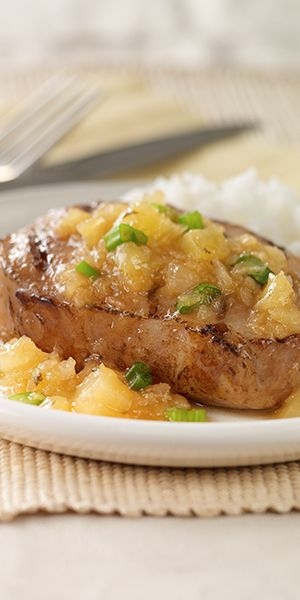 Orange ginger pork chop recipe