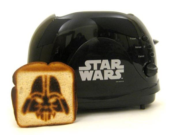 Star Wars Darth Vader Toaster - Reminds me of Sheldon! :)