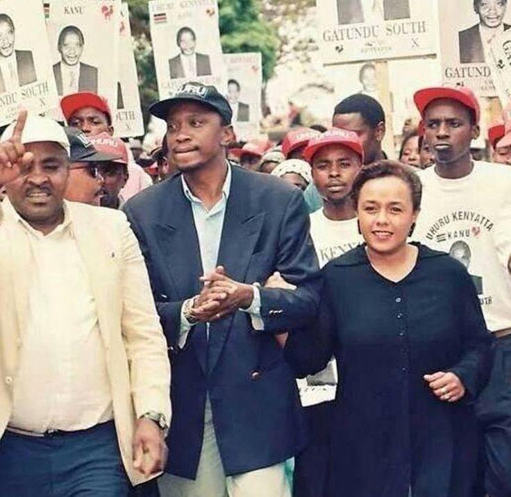 kenyan socialite dating presidents son