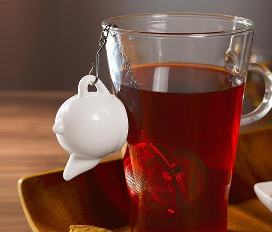 Zaparzacz do herbaty w kształcie kulki