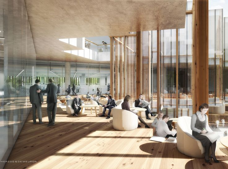 Herzog & de Meuron has designed a new research facility and corporate headquarters for pharmaceuticals giant AstraZeneca in Cambridge, UK.