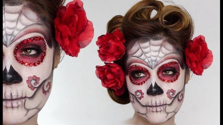 Top Tutorial Beautiful Halloween Makeup - Nice Compilation Halloween Mak...