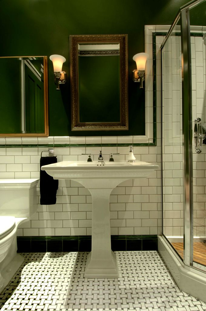 Find This Pin And More On Bathrooms Galore Victorian Tiling