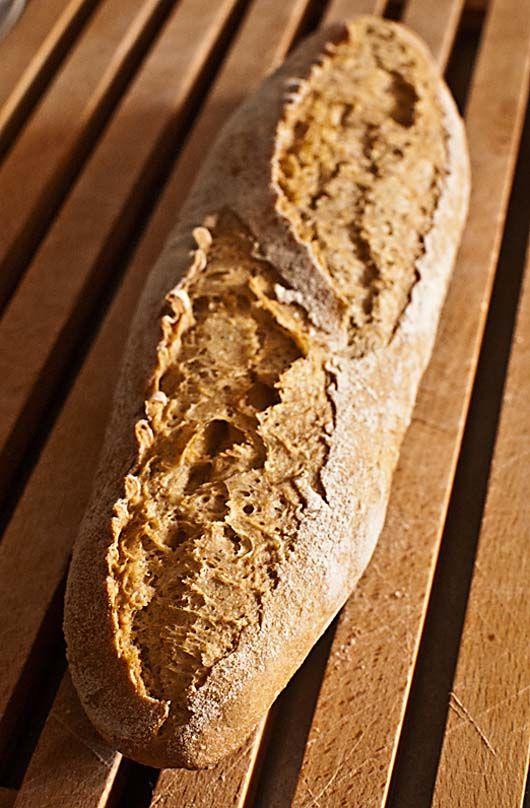 Cómo hacer pan con prefermento con Thermomix