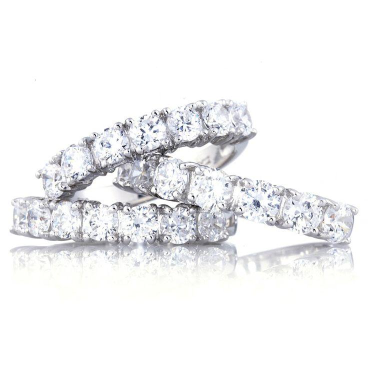 diamonique engagement rings qvc 3 - Qvc Wedding Rings