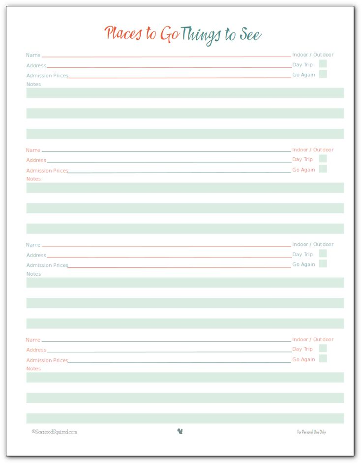 The 25+ best Vacation planner ideas on Pinterest Disney trip - vacation calendar template