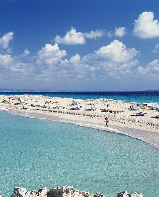 Playa de Illetas , Formentera Balearic Islands - Spain