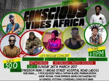Get Ready For A Live Reggae Concert At Freedom Park, Lagos! - 360Nobs.com