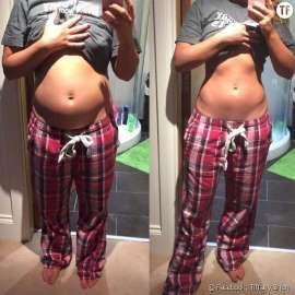 Un exercice de respiration de 3 minutes contre le ventre gonflé.