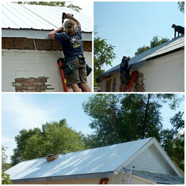 installing a metal roof diy