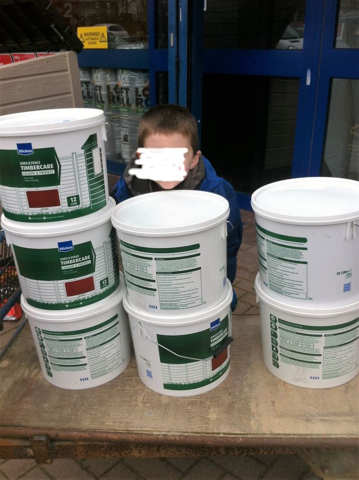 March 2016 bought these 12 litre tubs of fence paint for £2.49 each thank you Wickes and UKHotdeals