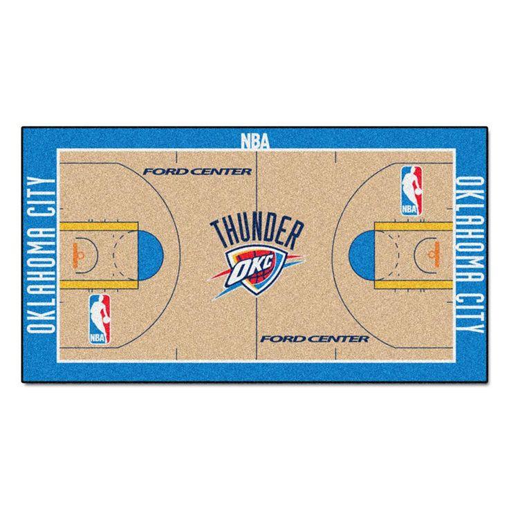 Oklahoma City Thunder NBA Large Court Runner (29.5x54)