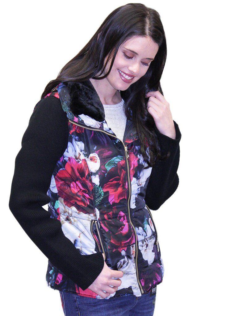 Gabby Isabella Floral Print Jacket