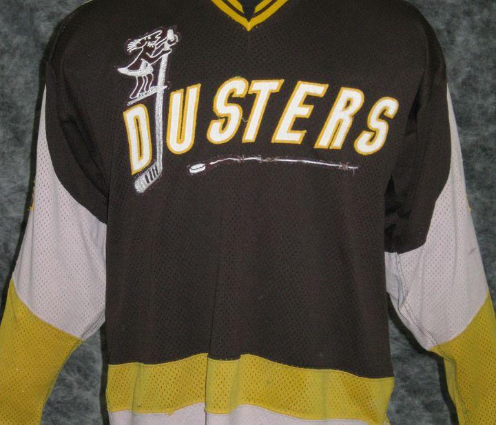 Binghamton Dusters away jersey (AHL 1977-79).  8d3273f75b8