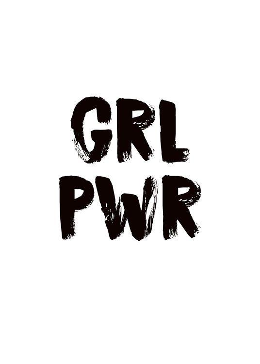 Girl Power Affiche dans le groupe Affiches / Mode chez Desenio AB (8835)