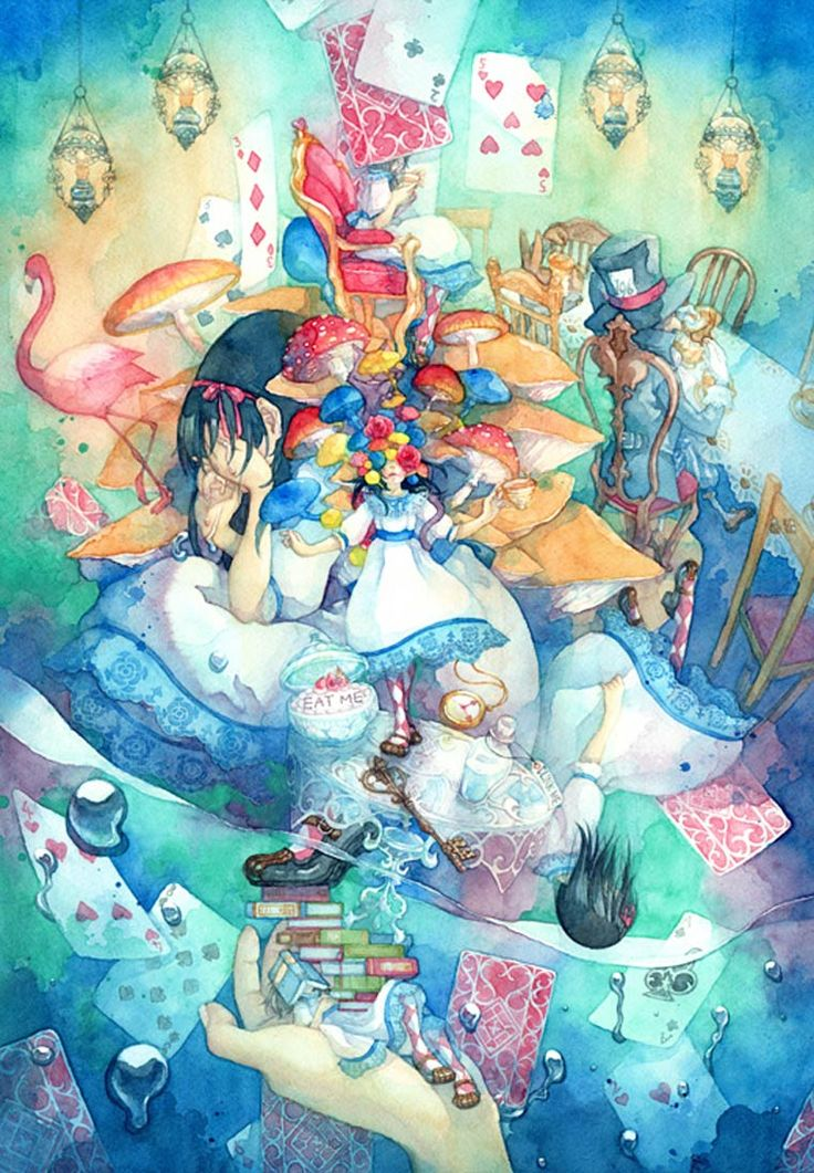 When Alice in Wonderland meets the Japanese culture