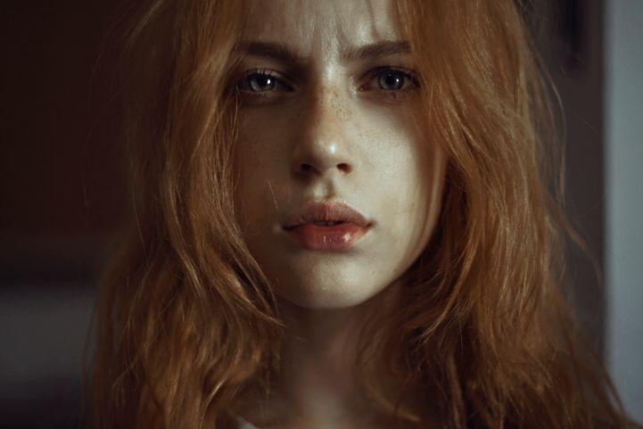 Quietly Expressive Faces of Women Whose Eyes Tell a Story - Marta Bevacqua (aka Moth Art)