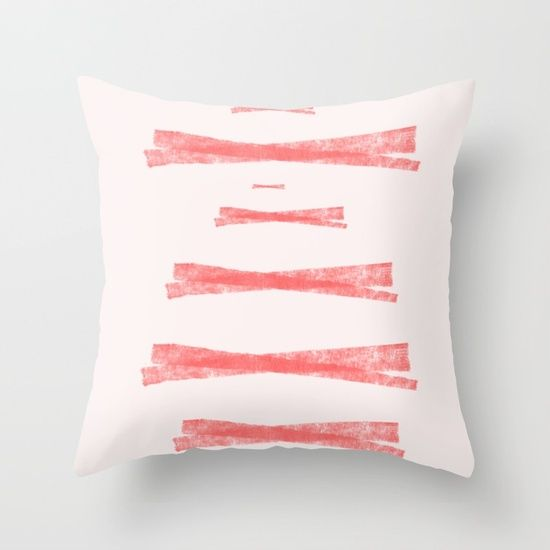 Color Geometry V Throw Pillow