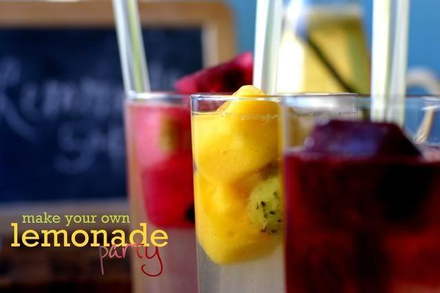 lemonade  fruits