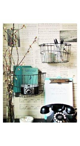 Basket Wall Shelves