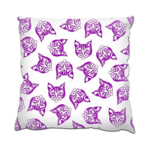 Magenta Mollys Cushion by hoganfinland at zippi.co.uk