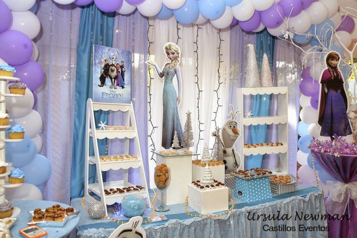 Castillos Eventos... de Ursula Newman: Frozen