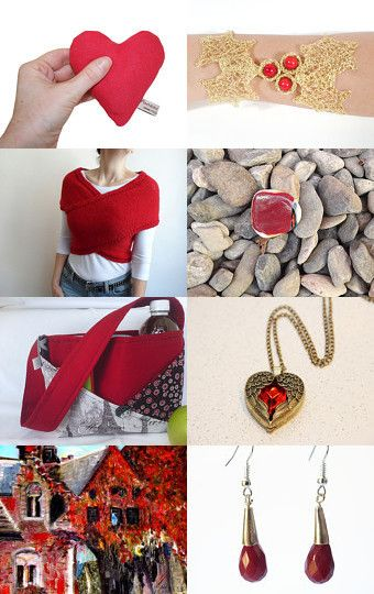 Red Gift by Jana on Etsy--Pinned with TreasuryPin.com