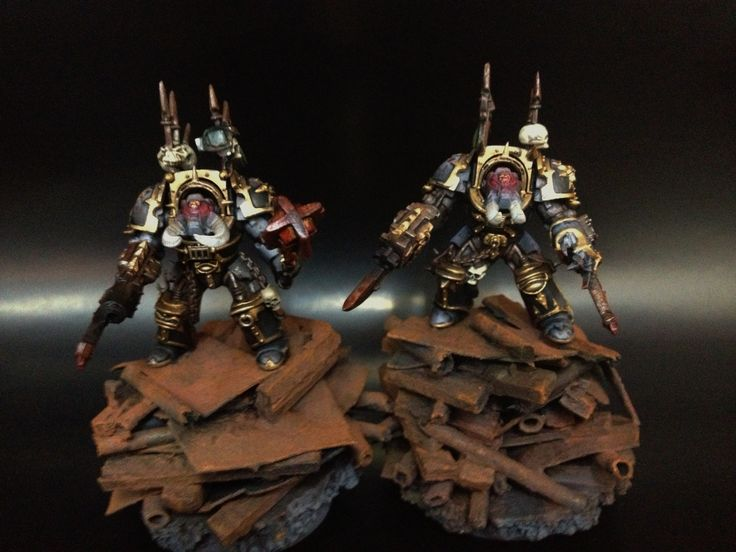 Exterminadores del caos, Legión Negra