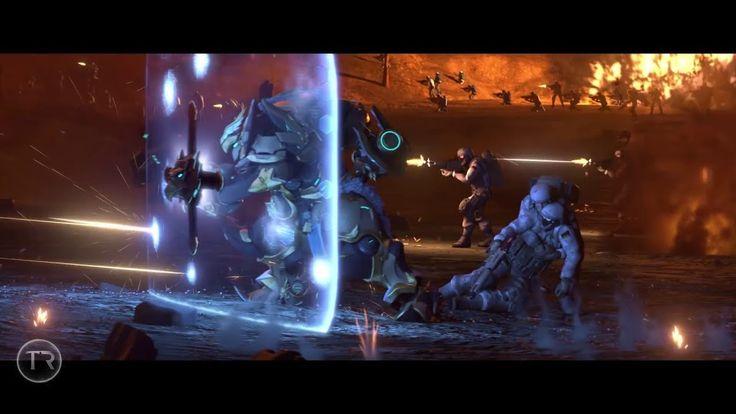 The Infinity Wars Trailer using Overwatch Cinematics