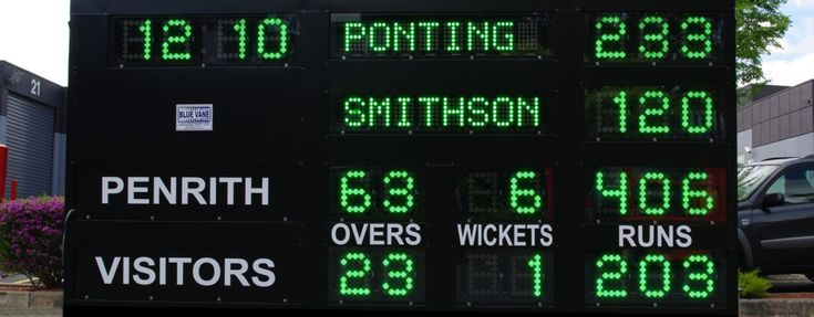 Blue Vane is a leading supplier of Cricket Scoreboard Australia. It is one of the most famous and large business which contains a large collection of indoor and outdoor products and also service installation. For any inquiries call us on (03) 9870 9331.