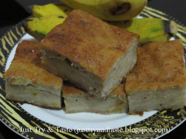Resep Bingka Pisang Jtt Makanan Kue Pisang