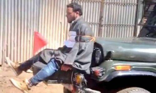 Exército indiano é processado por usar homem como escudo humano; confira o vídeo: ift.tt/2oGYOFh