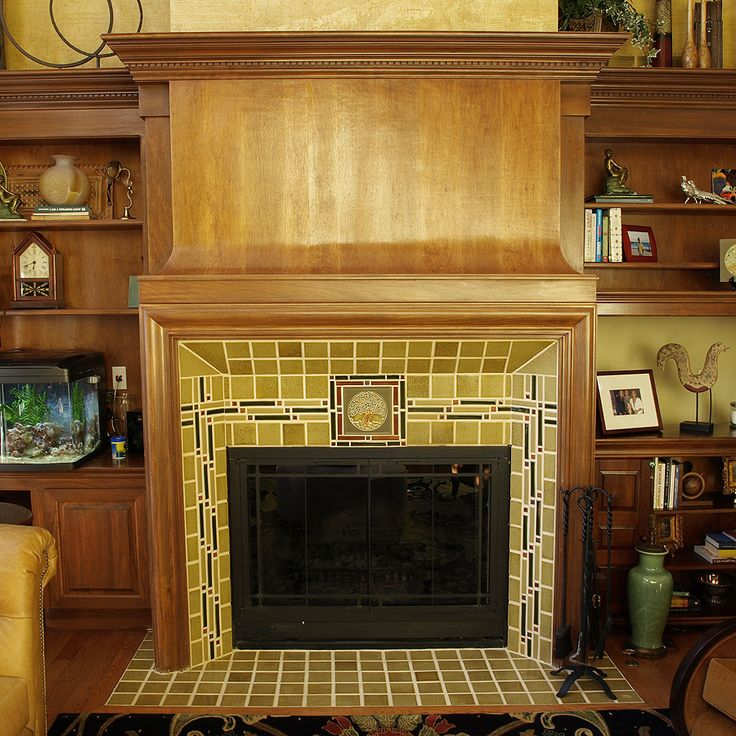Tree Of Life Fireplace Surround