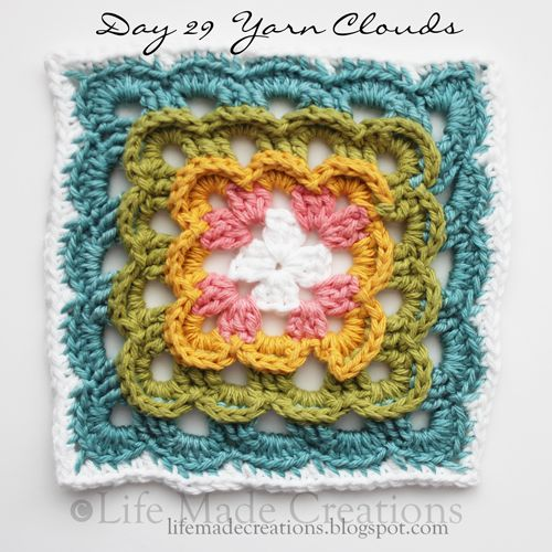 Yarn Cloud Granny - This has got to be one of my favorite granny squares I've seen.