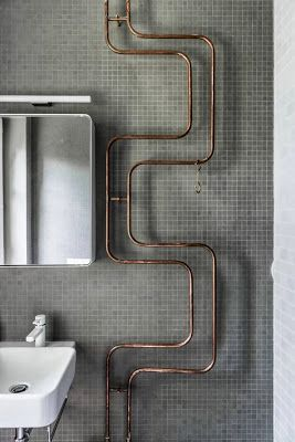exposed copper pipes | Karhard