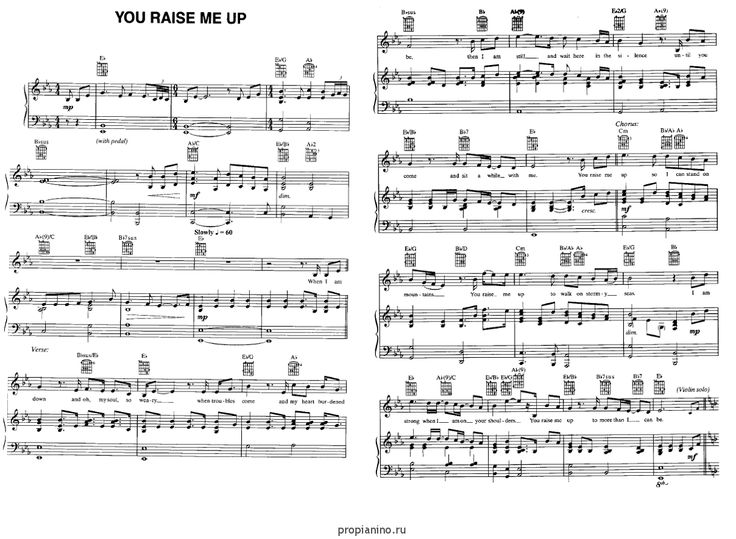 you raise me up piano sheet pdf