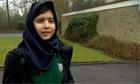 Malala Yousafzai, the teenager who was shot in the head by Taliban gunmen in Pak...