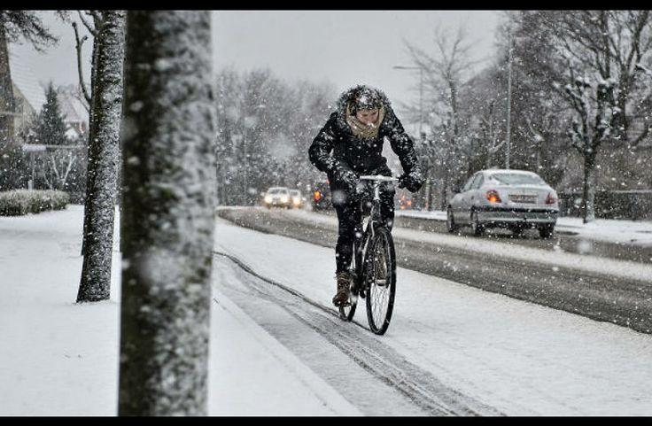 Pédaler Montréal l'hiver, pourquoi pas?
