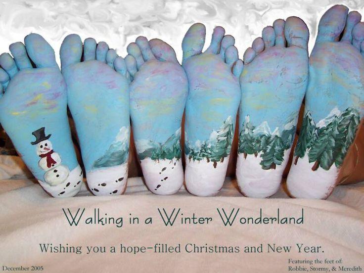 What a cute idea for a Christmas card.