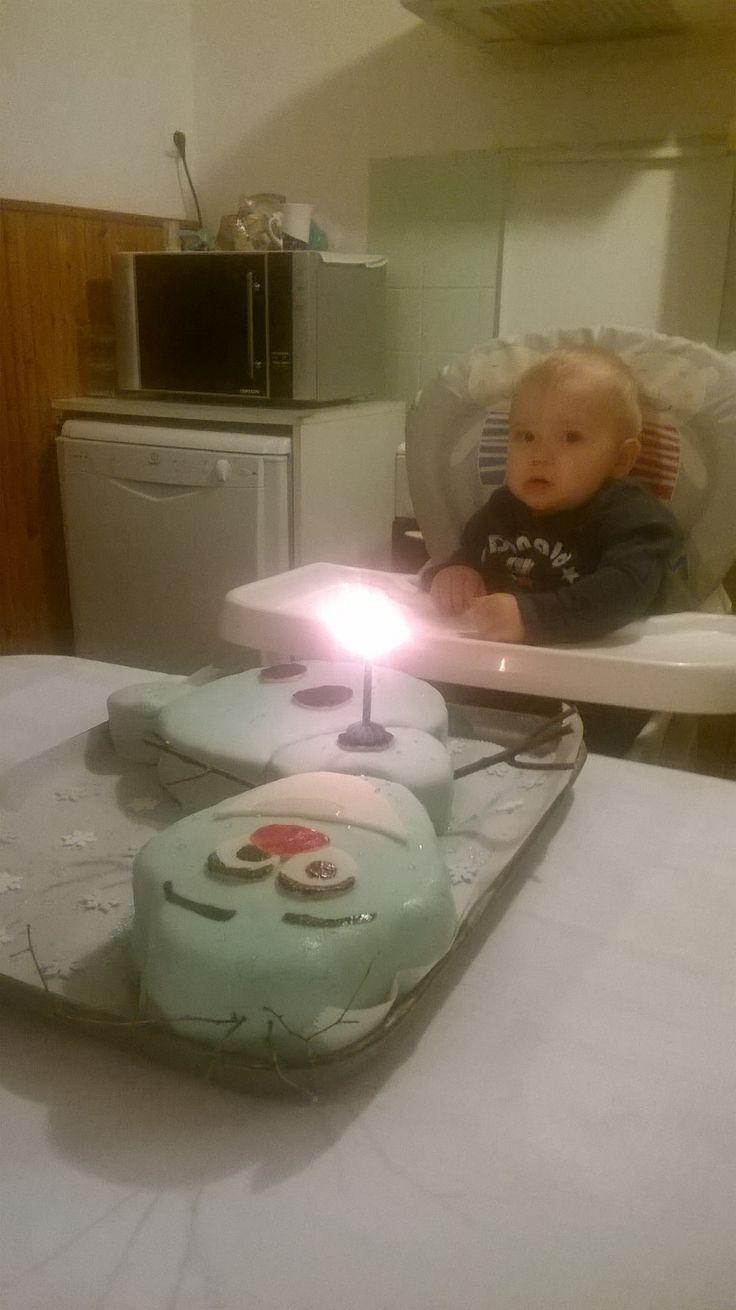 Gyönyörű unokaöcsim az első születésnapján