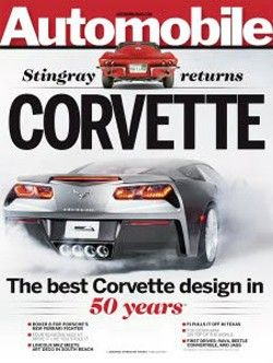 Ahhhhh :) Corvette C7 leaked on cover of Automobile