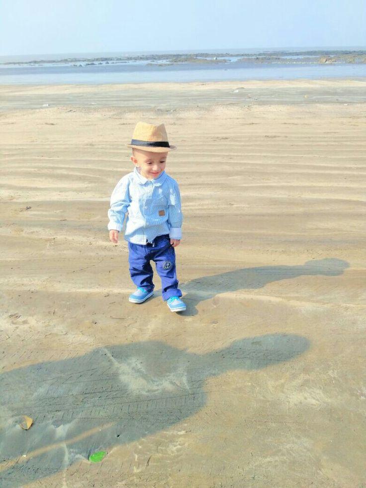 Kids Beach Fashion By Saumaakshit New Celebration On Yacht Baby Photoshoot