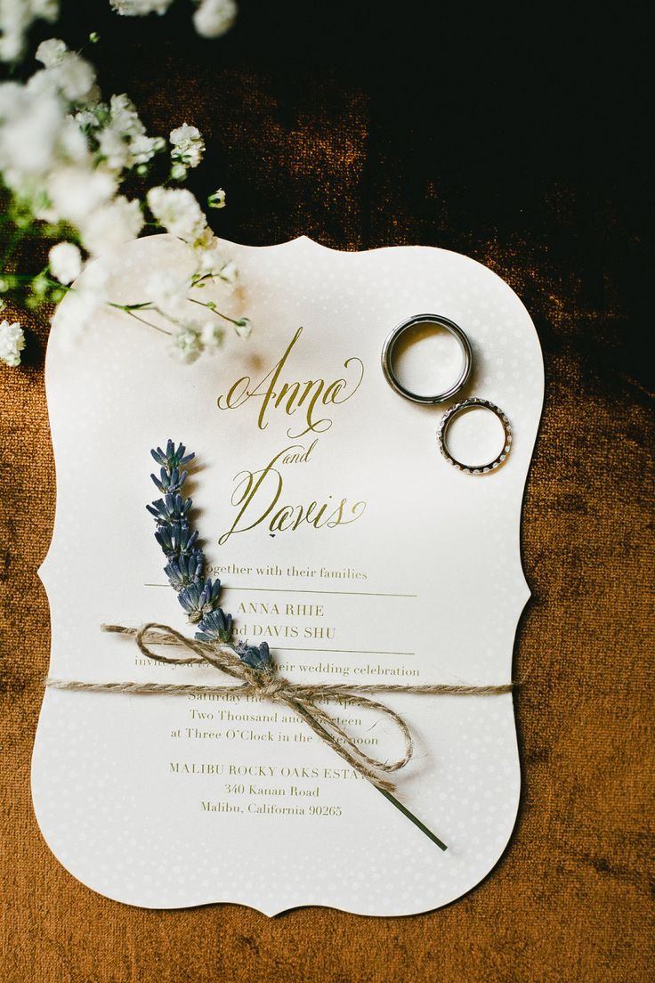 Baby's Breath French inspired Wedding Invitation by Minted artist by Laura Hankins  @minted #wedding #invitations