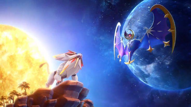 Solgaleo Amp Lunala Wallpaper Pokemon Moon Pokemon
