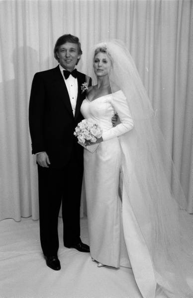 Marla Maples 1990s wedding DonaldTrump