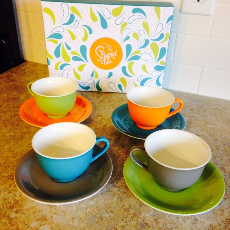 I donated other cups to make room for these babies in my cupboard!! Gemstone Collection Tea Cups by Steeped Tea