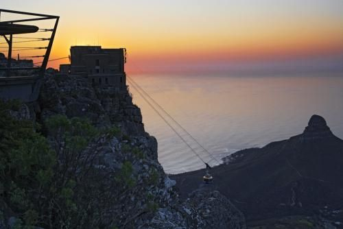 Table Mountain.  definitely climb it if you have the time