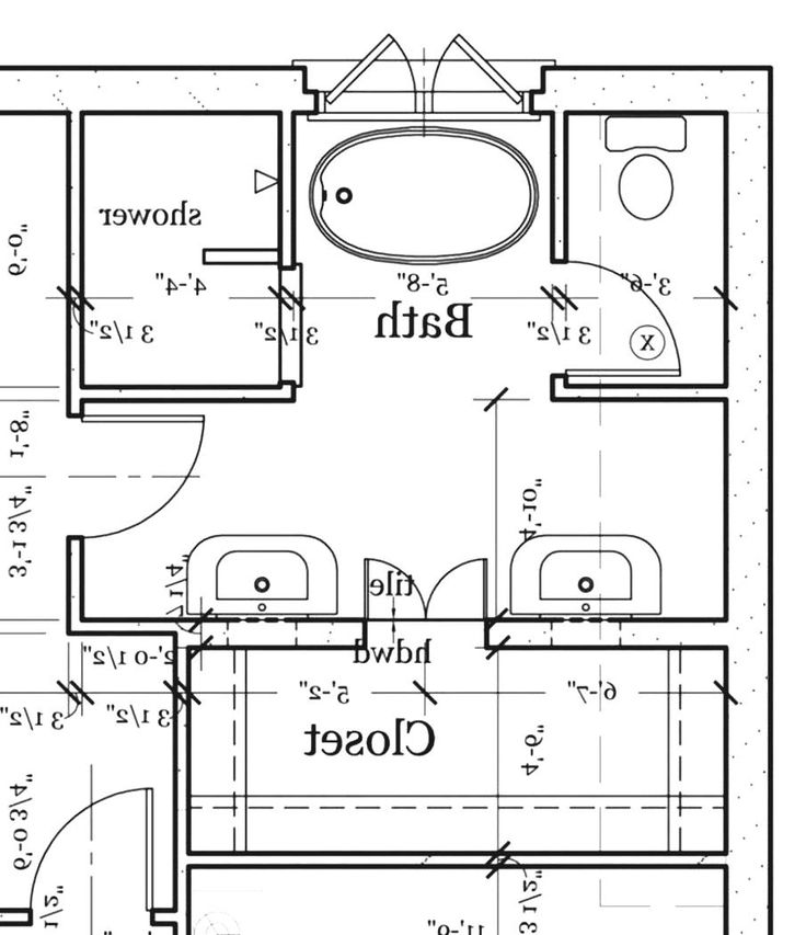 Pic On master bathroom design layout layouts stephniepalma g small floor plans three bedroom house plan