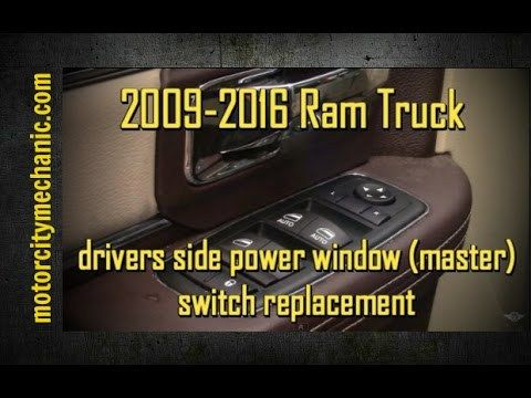 Latest Dodge RAM – 2009-2016 Ram truck drivers side power window (master) switch removal – 2817 West Greenwich RI July 2018.   Please use the following link when ever using Amazon.com. Any purchases you make on Amazon will help support this channel. Everyone loves mail! Feel the...