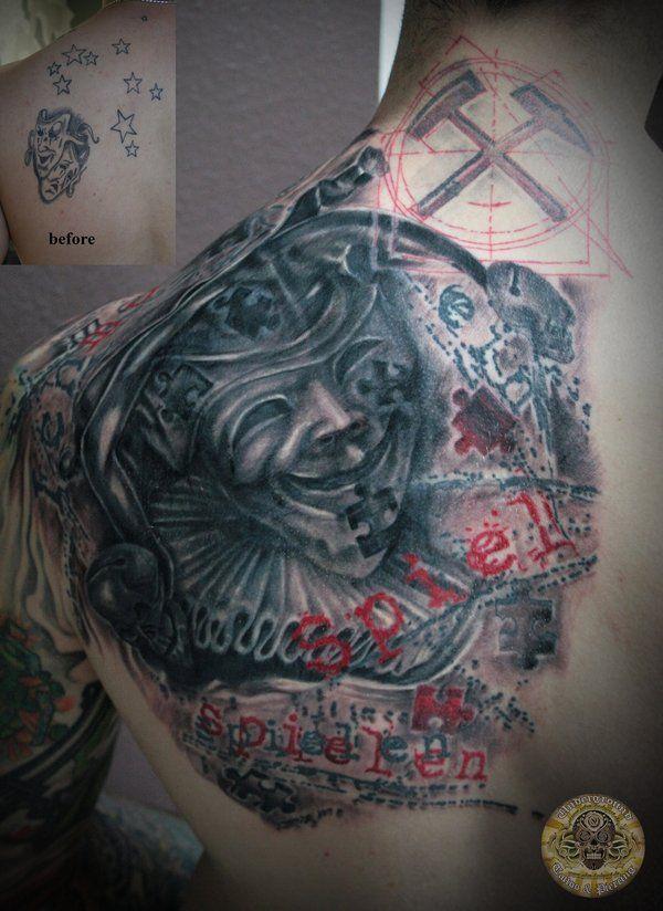 Best 25 Jester Tattoo Ideas On Pinterest Clown Face